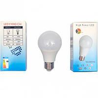 Лампа LED обычный цоколь 8W холодный
