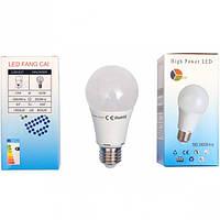 Лампа LED обычный цоколь 12W холодный