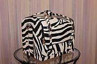 Кейс для майстра краси (принт зебра)