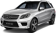 Фаркопы на Mercedes ML w166 (c 2011--)