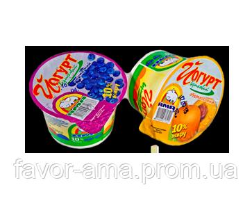 Йогурт сливочный АМА вишня 10%, фото 2