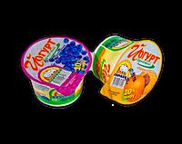 Йогурт сливочный АМА персик 10%