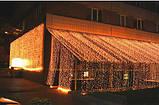 Штора неоновая, 240 лампочек, 3,5х0,7 м, фото 2