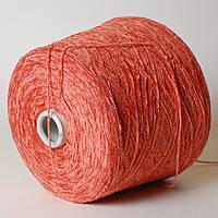 Пряжа-велюр, оранжевый (100% акрил; 600 м/100 г)