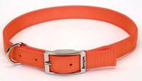 Ошейник для собак светоотражающий Remington, нейлон, оранжевый | 2,5 см.Х70 см.