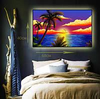"""Светодиодная картина """"Карибы"""""""