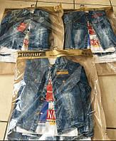 Детская джинсовая  рубашка двойка .Турция.MINNUR