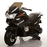 Детский мотоцикл на аккумуляторе Bambi M 3282EL-2, черный