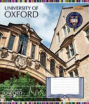 """Тетрадь 24листа клетка """"1 Вересня"""" """"Оксфорд колледж"""", фото 2"""