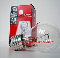 Лампа накаливания General Electric 40 A1/CL/E27 240V A50 прозрачная (Венгрия)