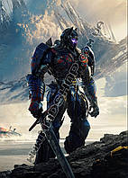 Картина 40х60 см Трансформеры Железный робот