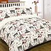 Комплект постельного белья семейный размер ТМ Вилюта париж хлопок 100%  Ранфорс арт. 12599