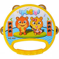 Бубен детский музыкальный