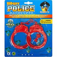 Наручники пластиковые с ключиком