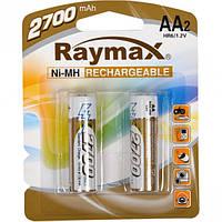 "Аккумуляторы ""Raymax"" HR6 1.2V 2700mAh Ni-MH AA blister/2pcs"