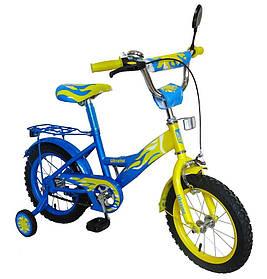 Велосипед детский  Profi двухколесный  14 дюймов на 3, 4, 5 лет