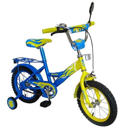 Велосипед детский  Profi двухколесный  14 дюймов на 3, 4, 5 лет , фото 2