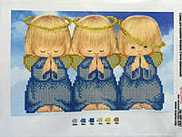 Схема для вышивки бисером Ангелы