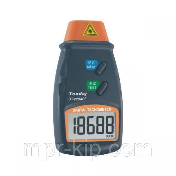 Лазерний безконтактний тахометр Walcom DT-2234C+ (від 2,5 до 99999 об/хв)