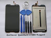 GoClever Quantum 2 500 Rugged Сенсорный экран Touch Screen Оригинал + LCD дисплей