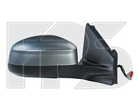 Зеркало левое электро с обогревом грунт. складывающееся 7pin без указателя поворота с подсветкой Mondeo 2007-1