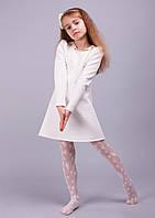 """Красивое  платье для девочки """"Агата"""" белый"""