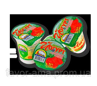 Йогурт десертный АМА персик 2,5%, фото 2