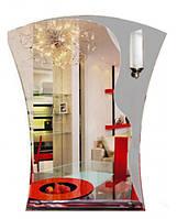 Зеркало для ванной с подсветкой (фигурное, 70х58 см)