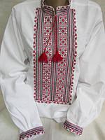 """Вышиванка мужская, """"Любомир"""", домотканное полотно,490/510 грн."""