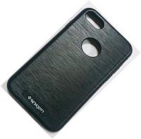 """Пластиковая металлизированная накладка Spigen """"Magnetic"""" для iPhone 6 6s"""
