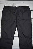 Спортивные штаны утепленные женские большие размеры (плащевка на флисе) р-ры 50,52,54,56,58,60