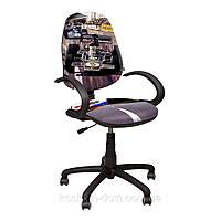 Компьютерное Кресло Поло 50/АМФ-5 Дизайн №1 Гонки