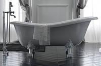 Ванна акрилова AMELIA 190*77 Besco PMD Piramida з білими ніжками