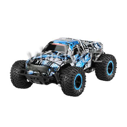Скоростной джип на радиоуправлении внедорожник Slayer Beast синяя, фото 2