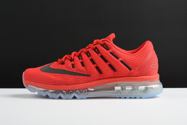 Мужские кроссовки Найк Аир Макс 2016 купить в Украине красного цвета