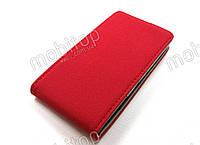 Кожаный чехол HTC 8S A620e (красный)