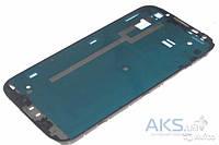 Передняя панель корпуса (рамка дисплея) Samsung Galaxy Note 2 N7100 Grey