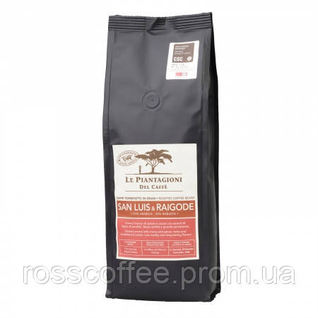 Кофе в зернах Le Piantagioni del Caffe San Luis & Raigode 500 г