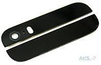 Задняя часть корпуса (крышка аккумулятора) Apple iPhone 5S верхняя + нижняя Black