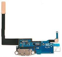 Шлейф для Samsung N9000, N9005 Galaxy Note 3 с разъемом зарядки и микрофоном Original