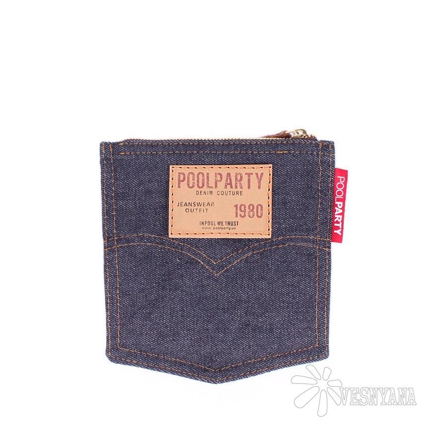 Джинсовая косметичка POOLPARTY Pocket