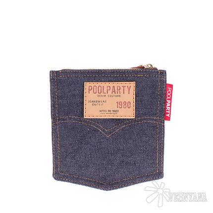Джинсовая косметичка POOLPARTY Pocket, фото 2