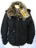 Новая теплая куртка с капюшоном KHUJO хлопок L 48-50 C47N