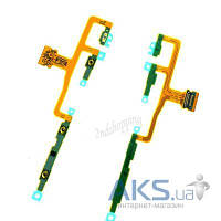 Шлейф для Sony C6502 L35h Xperia ZL, C6503 L35i Xperia ZL c кнопкой включения, боковыми клавишами Original