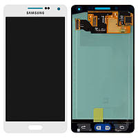 Дисплей (экран) для телефона Samsung Galaxy A5 A500F, Galaxy A5 A500FU, Galaxy A5 A500H + Touchscreen Original White