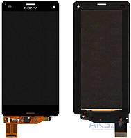 Дисплей (экран) для телефона Sony Xperia Z3 Compact D5803, Xperia Z3 Compact D5833 + Touchscreen Original Black