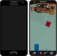 Дисплей для телефона Samsung Galaxy A3 A300F, Galaxy A3 A300FU, Galaxy A3 A300H + Touchscreen Original Blue