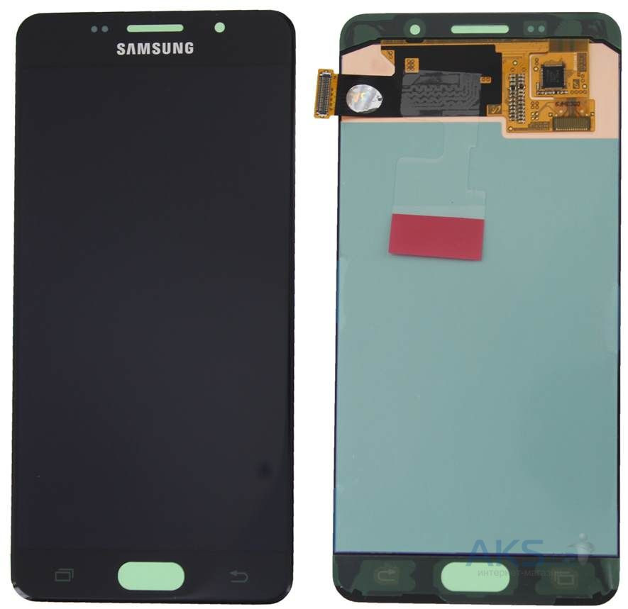 Дисплей (экран) для телефона Samsung Galaxy A7 A700F, Galaxy A7 A700H + Touchscreen Original Black