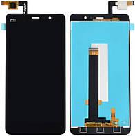 Дисплей (экран) для телефона Xiaomi Mi Note + Touchscreen Original Black