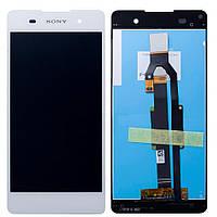 Дисплей для телефона Sony Ericsson Xperia S LT26i + with frame Touchscreen Original White